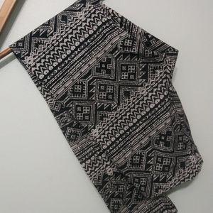 GARAGE motifs pattern legging